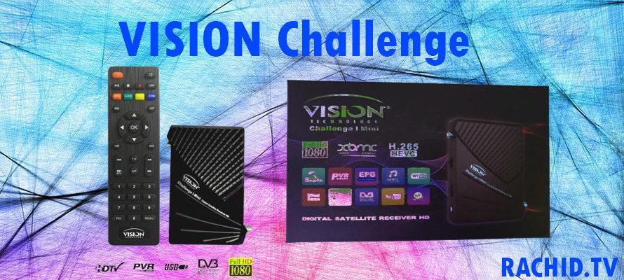 فلاش و قنوات vision challenge mini