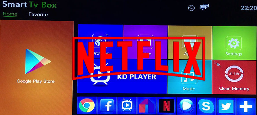 تطبيق NETFLIX HD android 7 x96